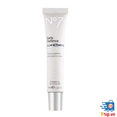 Serum dưỡng da No7 Early Defence Glow Activating Serum 30ml