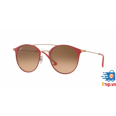 Kính mắt Ray Ban Sunglasses RB3546 907271 52MM Red Bronze Pink Brown Gradient Round