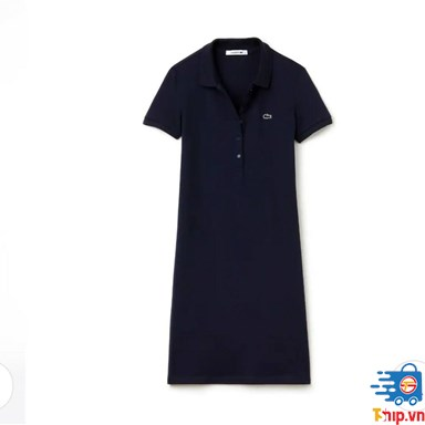 Váy Lacoste Women's Polo dress in stretch mini piqué